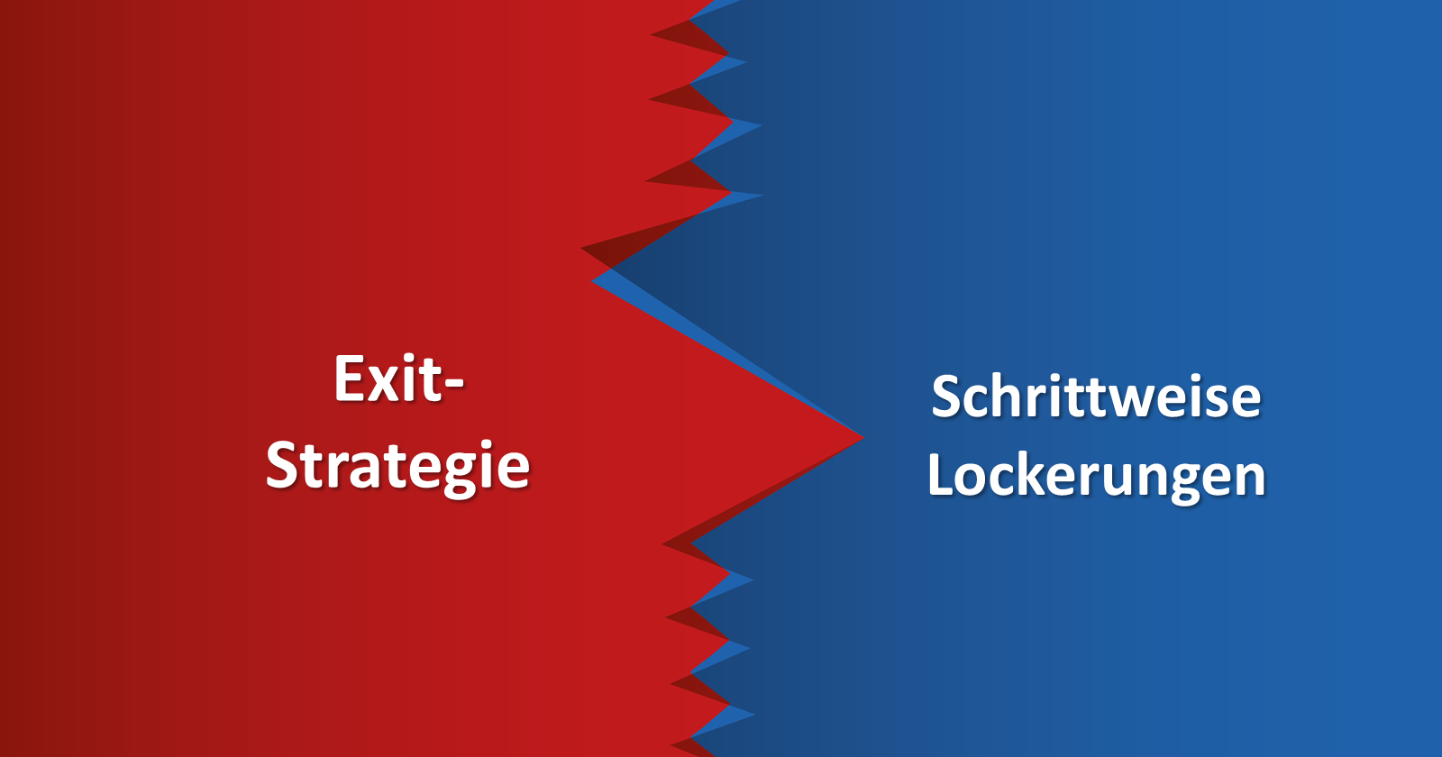 Das Framing der Exit-Strategie