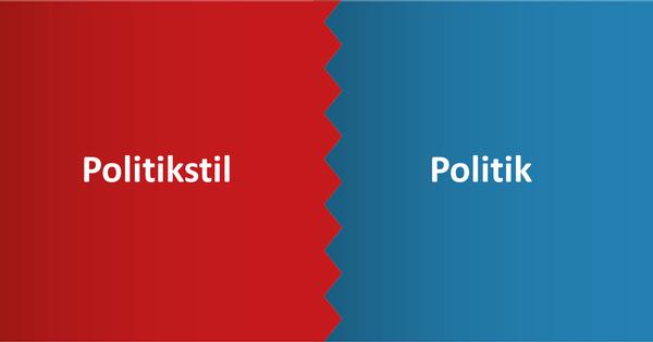 Stil oder Politik?