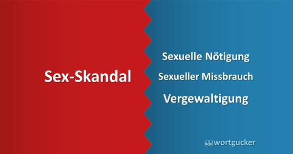 Missbrauch ist kein Sex-Skandal