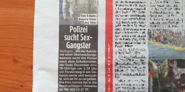 Sex-Gangster oder Vergewaltiger?